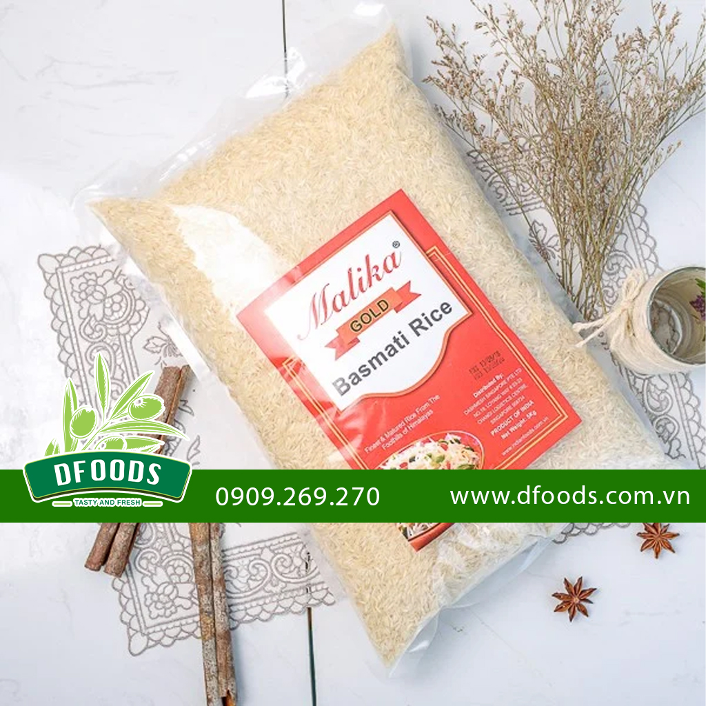 Gạo Ấn Độ Gạo Basmati Truyền Thống Malika