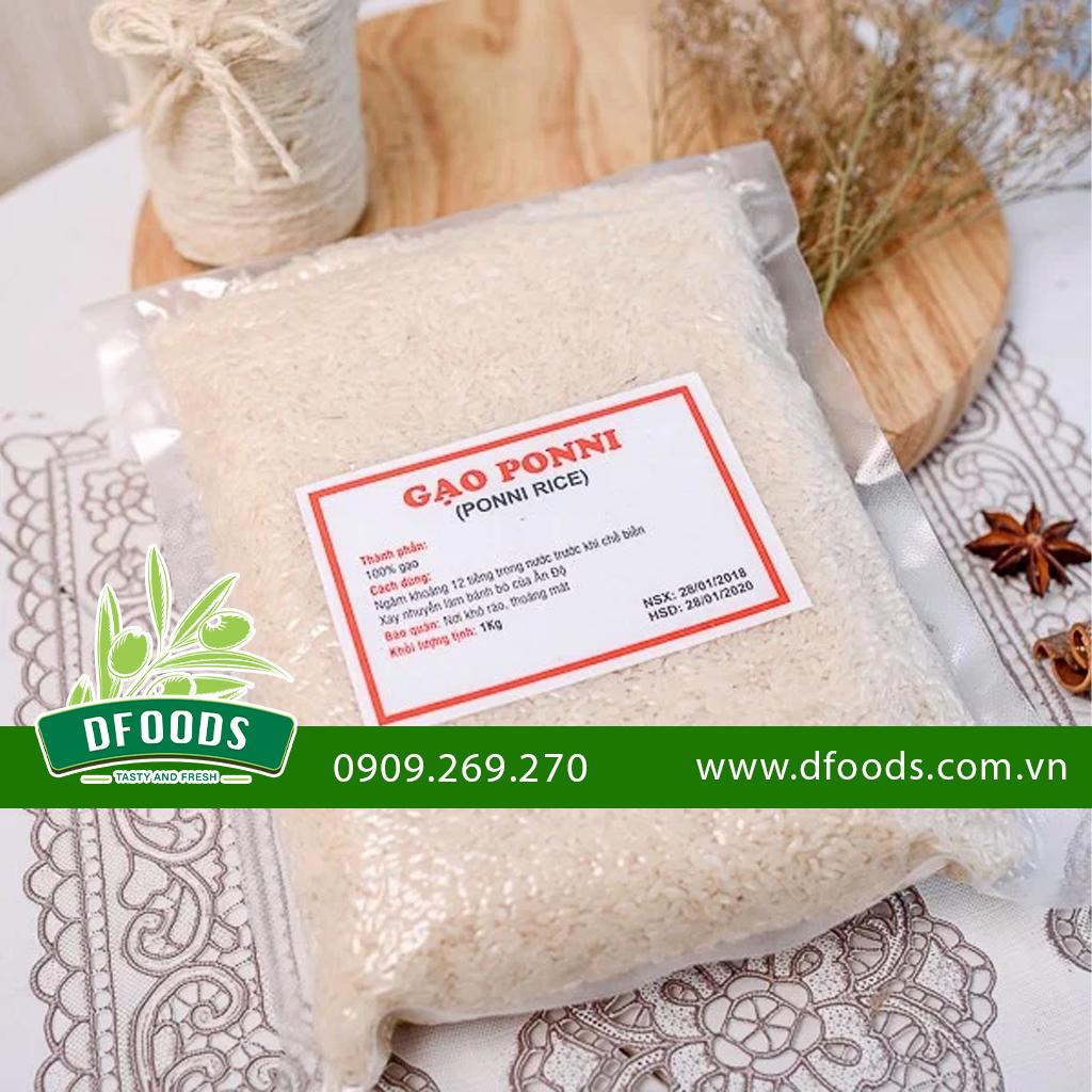 Gạo Ponni Ấn Độ