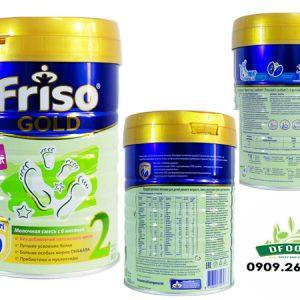 Sữa Friso Gold số 2 hộp 800g Nga