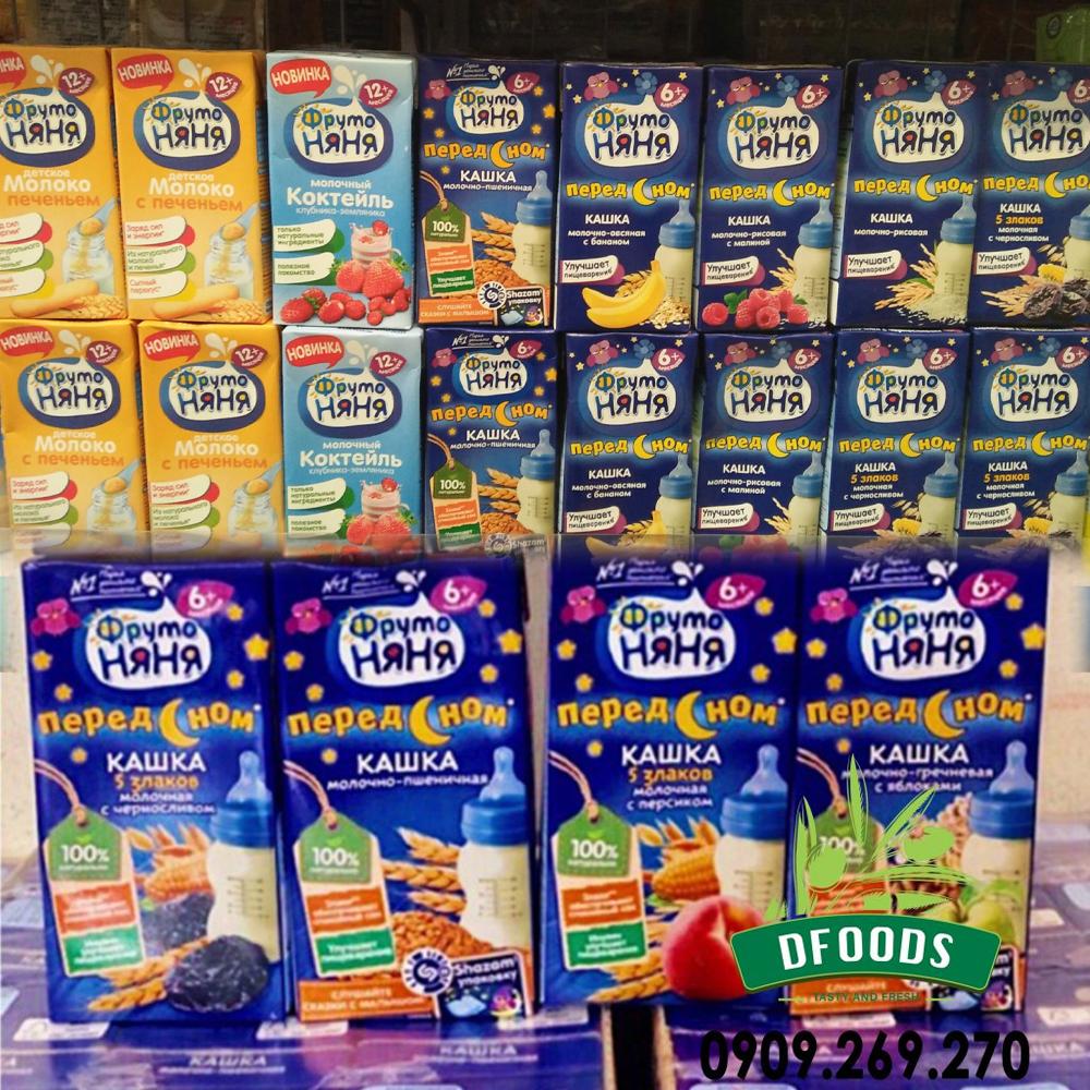 Sữa Nước Fruto Đêm Cho Trẻ 6 Tháng