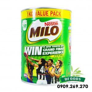 Sữa bột Nestle Milo 1kg của Úc – Hàng chính hãng