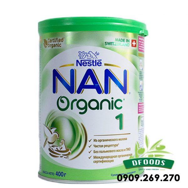 Sữa Bột Nan Organic của Nga số 1