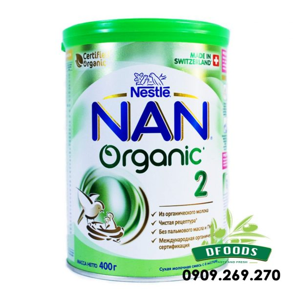 Sữa Bột Nan Organic của Nga số 2