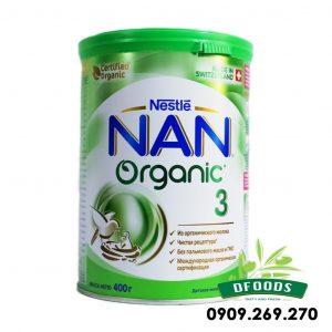 Sữa Bột Nan Organic của Nga số 3