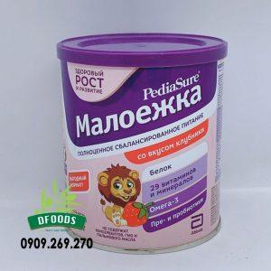 Sữa Bột Pediasure Của Nga Vị Dâu 400gr (Dành Cho Trẻ Từ 1 Đến 10 Tuổi)
