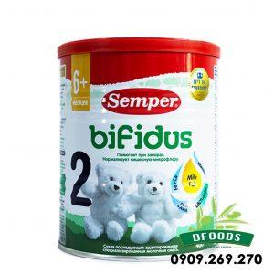 Sữa Semper Bifidus Số 2 400g của Nga