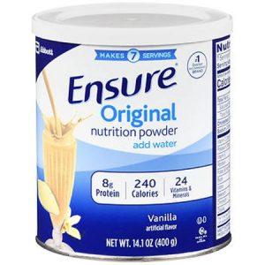 Sữa Ensure Original Nutrition Powder 397gr của Mỹ